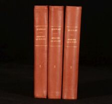 1832 3vol Memoirs of Doctor Burney Family Papers Daughter Madame D'Arblay First