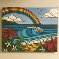 HEATHER BROWN GICLEE ART PRINT RARE COLLECTIBLE WALL DECOR NORTH SHORE RAINBOW