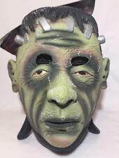 Máscara Facial Frankenstein Halloween espeluznante Horror Monstruo Verde Movie Vestido de fantasía