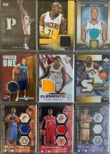 54 Basketball Jersey-Cards in einem Lot: Jamison, Richardson, Terry, Allen u.A.