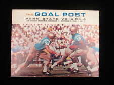 October 12, 1968 Penn State vs. UCLA Football Program