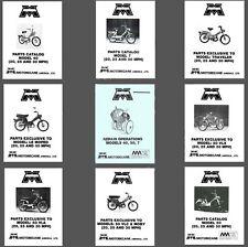 MOTOBECANE 40 50 50V 7 SERVICE Shop MANUAL, PARTS Catalogs OWNER -13- MANUALS CD