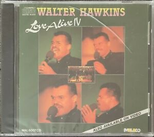 Walter Hawkins Love Alive IV Music CD Christian Gospel Brand New Factory Sealed