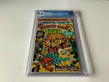MARVEL TEAM UP 40 CGC 9.4 WHITE PAGES SONS OF THE TIGER TORCH MARVEL COMICS 1975