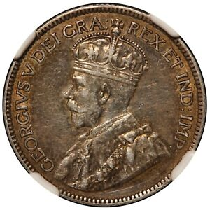 1919 Canada 25 Cents Silver Coin - NGC XF Details - KM# 24