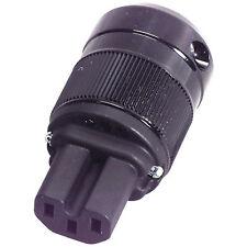 Wattgate 320i Black IEC Connector