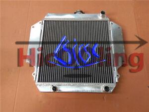 Aluminum radiator for SUZUKI SIERRA 1.0 1.3 SJ410 SJ413 1981-1996 + Blue hose MT