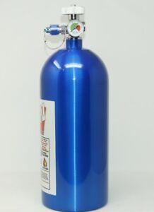 10LB 10 LB Nitrous Bottle W/high flow valve & gauge NEW