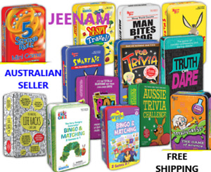 GAME TIN + FREE SHIPPING (CHOOSE FROM 13 DIFFERENT VARIETIES )