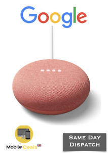Google Nest Mini 2nd Generation Google Assistant Smart Bluetooth Speaker - Coral