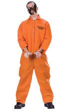 Brand New Prisoner Convict Jail Cell Block Psycho Men Adult Costume