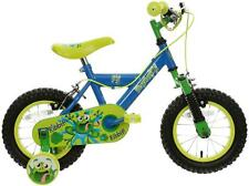 """Indi Frogster Kids Boys Bike Bicycle - 12"""" Wheels Steel Frame With Stabilisers"""