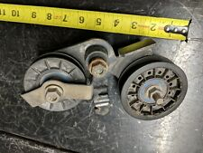 JOHN DEERE GT 242 14HP transmission belt idler pulley # AM115459  AM115460