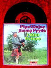 Single Pipe Major Jimmy Pryde: I Will Return /Dudelsack