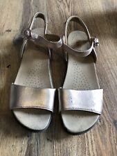 Hotter Ladies Metallic Pink Sandals Size 6.5 UK