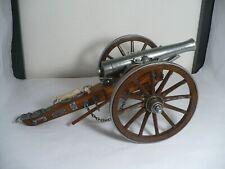 Denix Large Dahlgren 1861 Model Cannon Replica American Civil War Metal Wood
