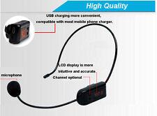 25W Wireless Voice Booster Amplifier Loud speaker FM Microphone For Teacher To
