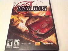 Death Track Resurrection PC Game DVD ROM 2009 Racing Survival New Sealed - D