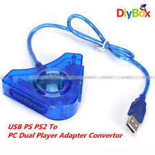 Dual PSX PS1 Joypad PS2 to USB Game Pad PS2 Controller Control PC Adapter