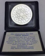 Israël BU 25 Lirots 1975 argent