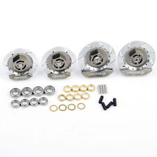 Silver Alloy Wheel Rim Brake Discs For HPI Racing 1/10 RC Drift On-Road ModelCar