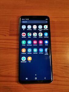 Samsung Galaxy S9+ Plus SM-G965F SIM Unique 128Go 6Go Bleu, Pièces ou Réparer