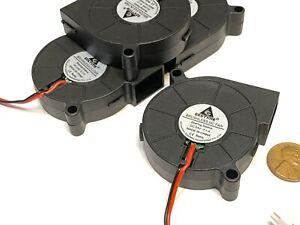 4 Pieces Gdstime DC 3d Printer Blower Fan 5015 50MM x 15mm 5cm 24V 2Pin C48