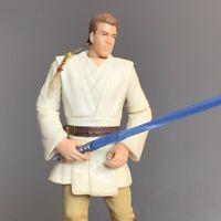 "Star Wars Series 1999 Obi-Wan Kenobi Episode 1 Jedi Duel 3.75"" Action Figure Toy"