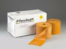 TheraBand Latex MAX Resistance (Gold) Band Thera-Band 5' Pre-cut Length-186-5