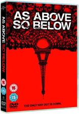 AS ABOVE SO BELOW PERDITA WEEKS BEN FELDMAN UNIVERSAL UK 2014 REGION 2 DVD L NEW