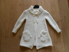 NEW EXCELLENT CONDITION MISS SIXTY CARDIGAN CREAM COLOUR AGE 4A