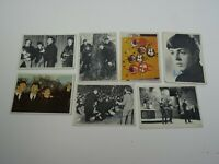 1960's The Beatles Trading Card Lot of 7