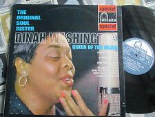 Dinah Washington TheOriginal Soul Sister Queen Of The Blues SFL13073Vinyl Album