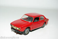 TEKNO 837 SAAB 99 RED WITH BLACK BUMPERS EXCELLENT CONDITION