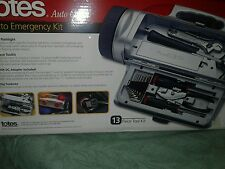 TOTES AUTO CLUB AUTO EMERGENCY KIT 13 PIECES! - NIB !  -
