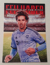 2016 Topps MLS Presence of the Pitch (Red #/10 Made) BENNY FEILHABER Kansas City