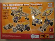 RCEE Metallbaukasten 7er-Set ab 8 Jahre - 840 Teile