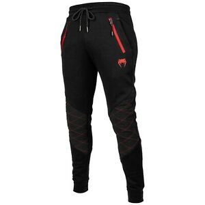 Venum Laser Evo Jogging Pants Black/Red for Sports And Freizeit. Size S-XXL