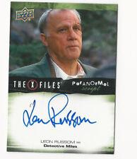 Leon Russom The X Files Ufos & Aliens Paranormal Script Autograph Card Auto