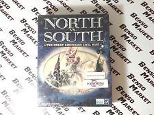 NORTH VS. SOUTH THE GREAT AMERICAN CIVIL WAR PC BIG BOX ITALIANO NUOVO SIGILLATO