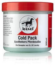 Leovet Cold Pack 6 x 500ml Apotheker`s Pferdesalbe plus 1x Leoveties gratis