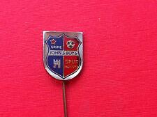 Rarre pin badge - Croatia Football Club -John's Boy - SPLIT - GRIPE 1967 - 1977