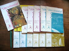 13 x DE JACOBSSTAF 1993-1996, Kwartaal-Magazine van GENOOTSCHAP VAN SINT JACOB