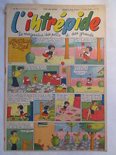 L'INTREPIDE 329  ANNEE 1956