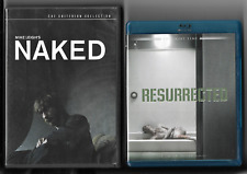 NAKED (2-DVD CRITERION Directr Sp Edit) & RESURRECTED David Thewlis (Tw.Time) LN