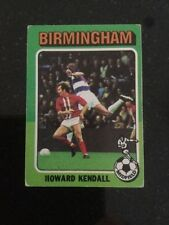 Birmingham City 1975 Football Trading Cards