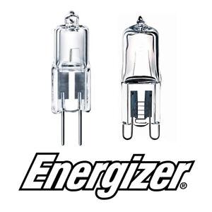 G4 G9 ECO Halogen Capsule Energizer Light Bulbs 33w = 40w & 16w = 20w Warm White