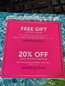 Bath and works 20%