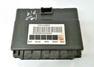 2003 04 05 06 07 GMC Sierra 1500/2500/3500 Body Control Module BCM ECM ECU