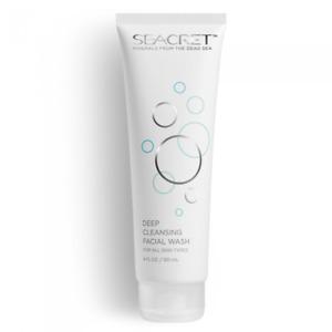 SEACRET™ Deep Cleansing Liquid Facial Wash Skin Care Dead Sea Mineral 120ml
